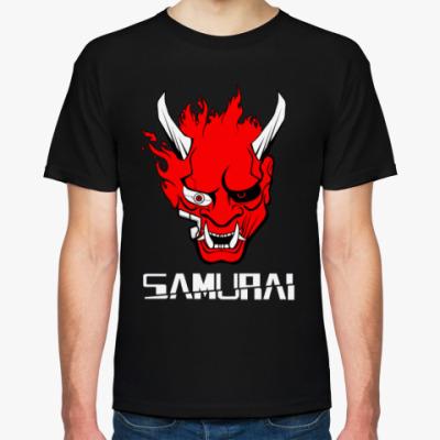 Футболка Самурай Cyberpunk 2077