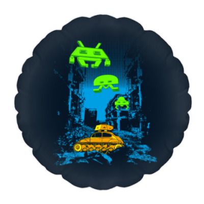 Подушка Space Invaders
