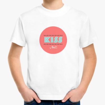 Детская футболка KISS ME