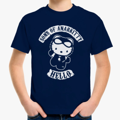 Детская футболка Sons of Anarkitty