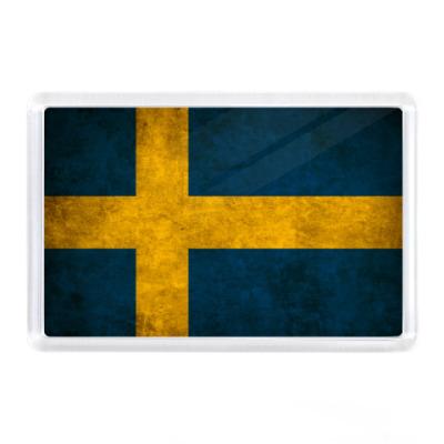Магнит  'Шведский флаг'