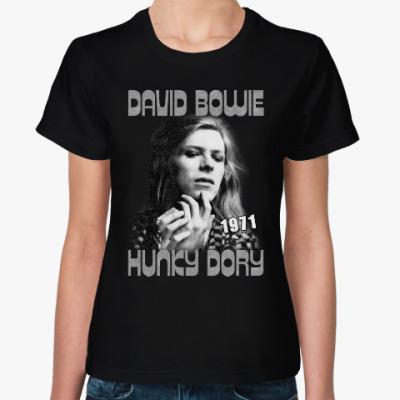 Женская футболка David Bowie Hunky Dory