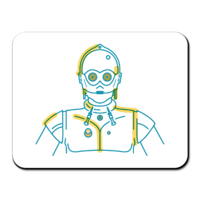 Коврик для мыши Star Wars. C-3PO
