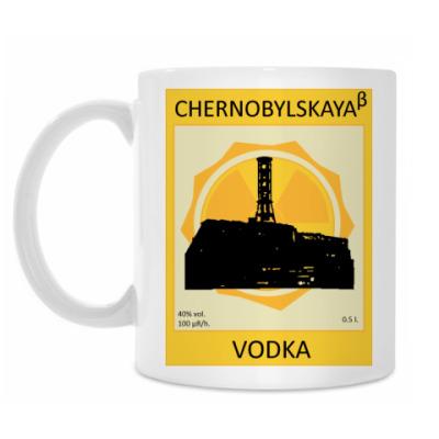 Кружка VODKA CHERNOBYLSKAYA