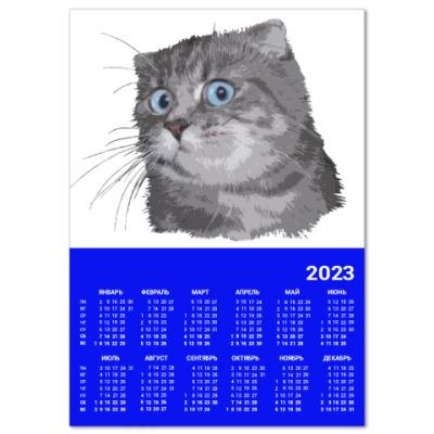 Календарь Кот