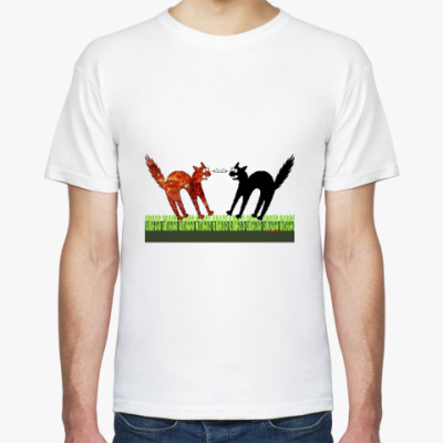 Футболка Два кота