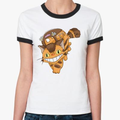 Женская футболка Ringer-T Котобус