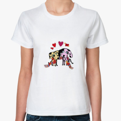 Классическая футболка Собачки