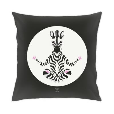 Подушка Animal Zen: Z is for Zebra