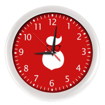 Настенные часы Санта Хипстер