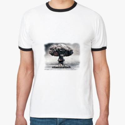 Футболка Ringer-T Ядерный клоун