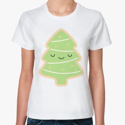 Классическая футболка Ёлка