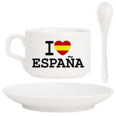 Кофейный набор I Love España