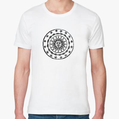 Футболка из органик-хлопка Солнечный круг