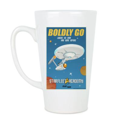 Чашка Латте Star Trek Boldly Go