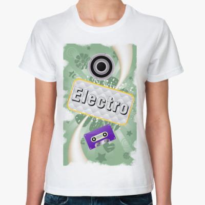 Классическая футболка electro