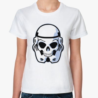 Классическая футболка Trooper Skull
