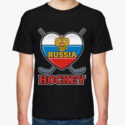Футболка Хоккей Сборная России Hockey