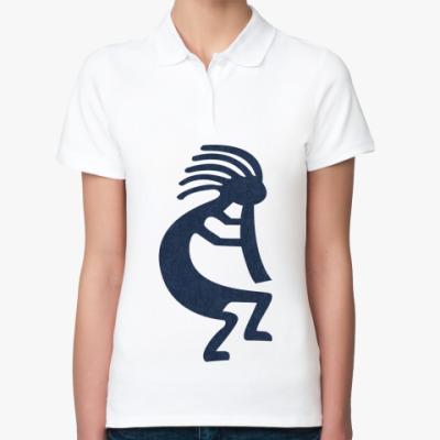 Женская рубашка поло  Индеец