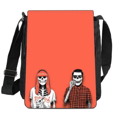 Сумка-планшет Skull-Hipster