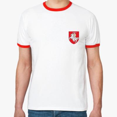 Футболка Ringer-T герб Погоня