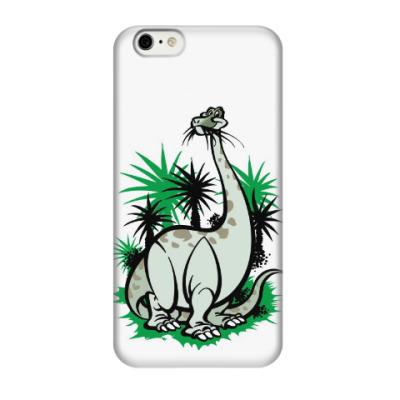 Чехол для iPhone 6/6s динозавр