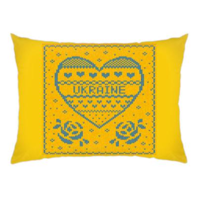 Подушка Я люблю Украину