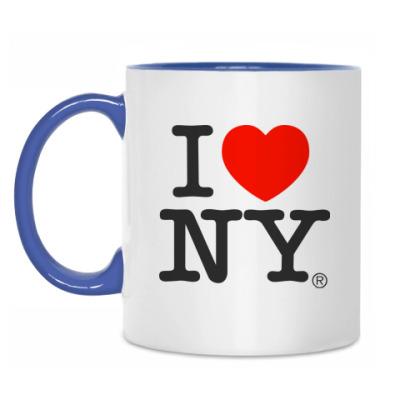 Кружка Я люблю Нью-Йорк
