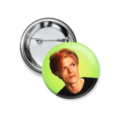 Значок 37мм David Bowie