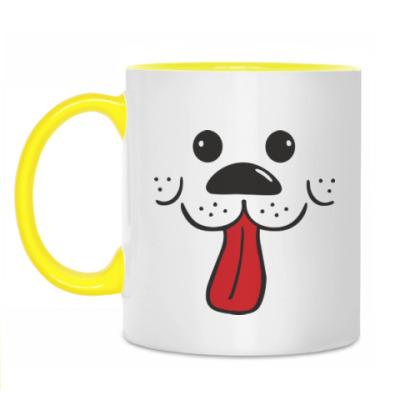 Кружка Радостный пес