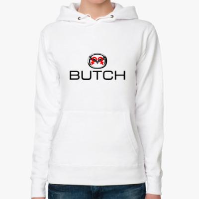 Женская толстовка худи BUTCH  (Буч)