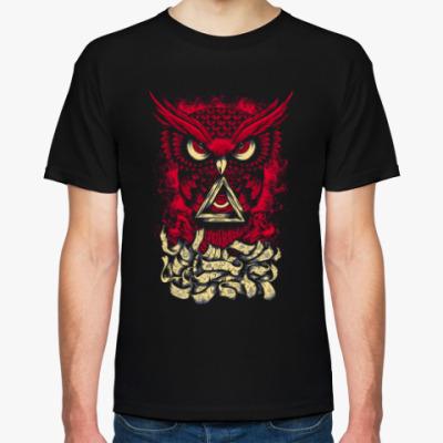 Футболка Сова (Owl) - всевидящее око