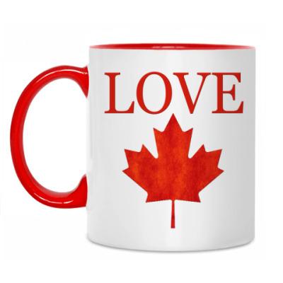 Кружка Love Canada