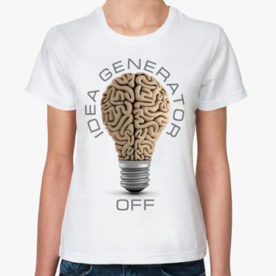 Классическая футболка Idea generator (off)