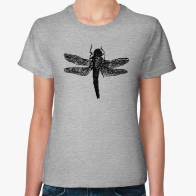 Женская футболка Dragonfly