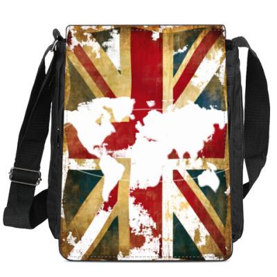 Сумка-планшет Британия и весь мир