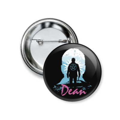 Значок 37мм Dean - Supernatural