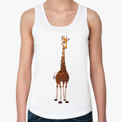 Женская майка Жираф