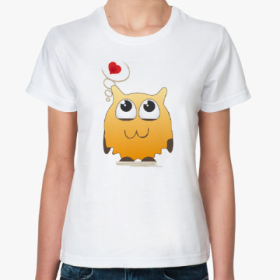Классическая футболка Романтичная штучка