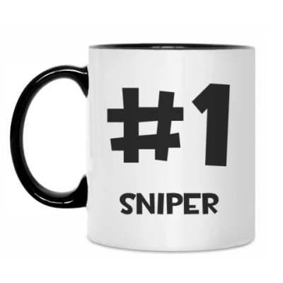 Кружка TF2 #1 sniper
