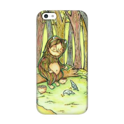 Чехол для iPhone 5c Лесной тролль