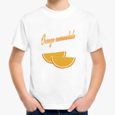 Детская футболка Orange marmalade