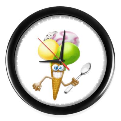 Часы Мороженое