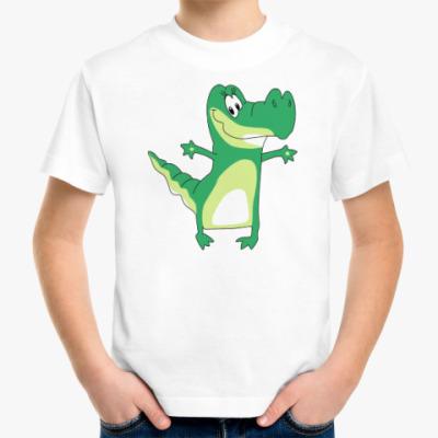 Детская футболка КРОКОДИЛ