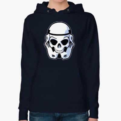 Женская толстовка худи Trooper Skull