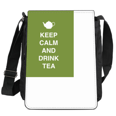 Сумка-планшет Keep calm and drink tea