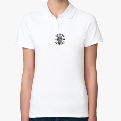 Женская рубашка поло Gallifrey Academy