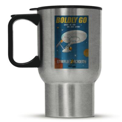 Кружка-термос Star Trek Boldly Go