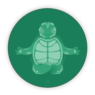 Костер (подставка под кружку) Animal Zen: T is for Turtle