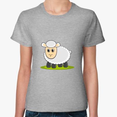 Женская футболка Sheep